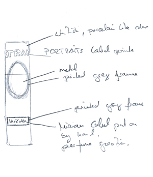 On Tableau de Parfums and concepts for a purse spray
