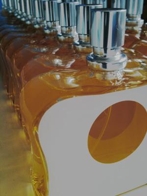 Loretta in bottles