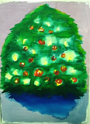 """Day 2 of the advent calendar or """"my big fat X-mas tree"""""""